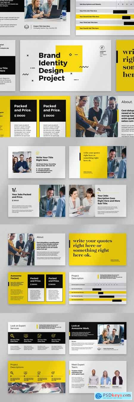 Yellow and Black Presentation Layout 331763089