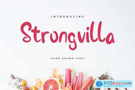 Stongvilla Brush Handwritten Font