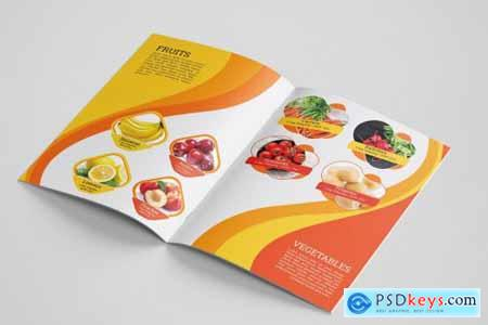 Fast Food Brochure Template 4542594