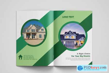 Real Estate Brochure Design Template 4542606