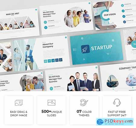 Simple & Modern Business Powerpoint Template 24877934