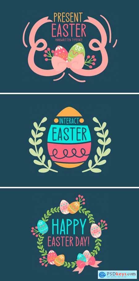 Present Easter Font