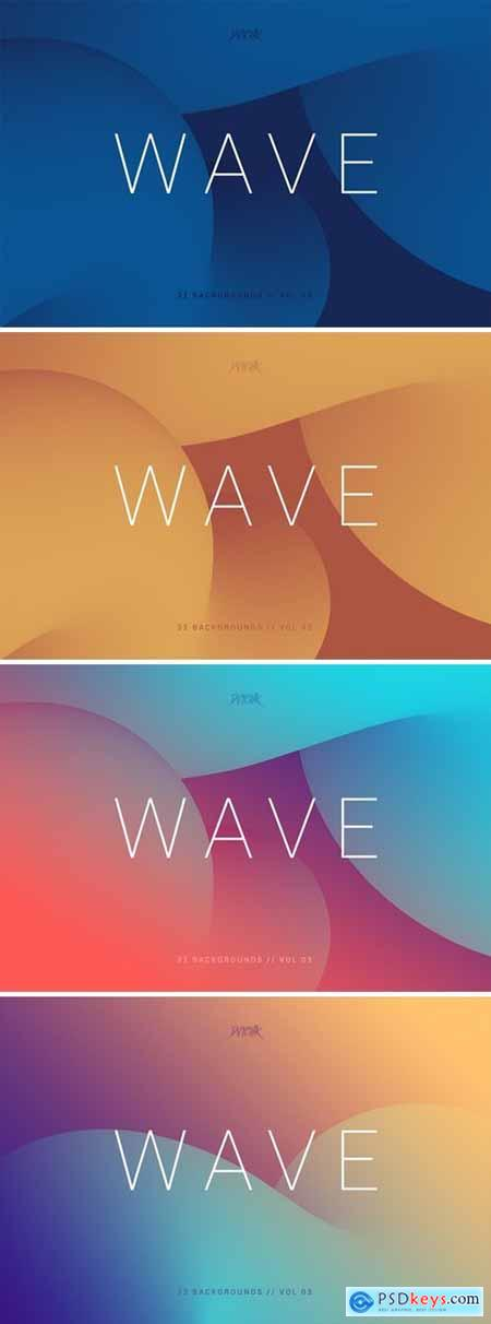 Wave - Smooth Backgrounds - Vol. 03