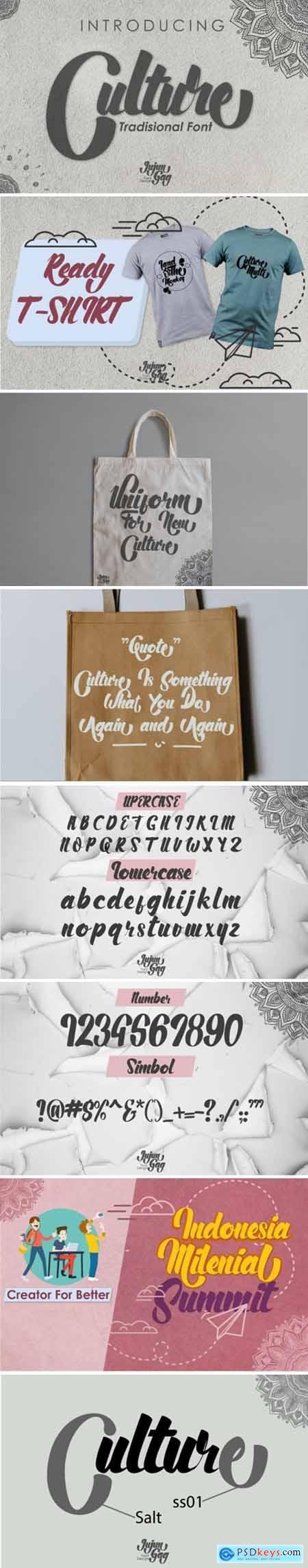 Culture Font 519642
