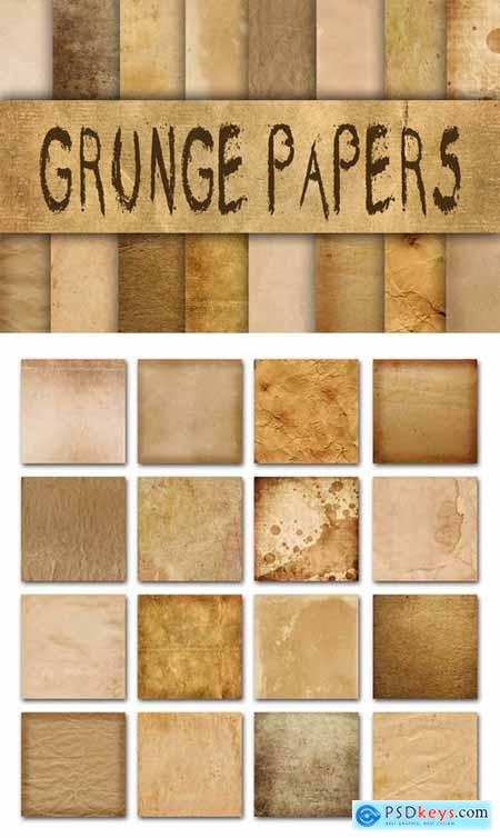 Old Grunge Paper Textures Digital Paper 330425