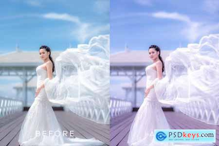 Clean Wedding Lightroom Preset 4552370