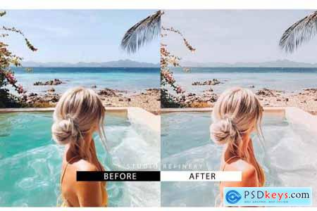 Tropical Mobile Lightroom Presets 4488163