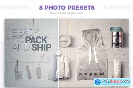 T-shirt Mockups & Packages 4519859