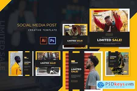Limited Sale Social Media Post