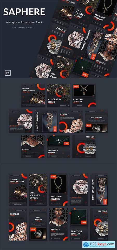 Saphere - Instagram Promotion Pack