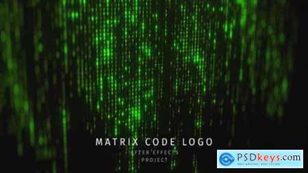 Matrix Code Logo 26109673