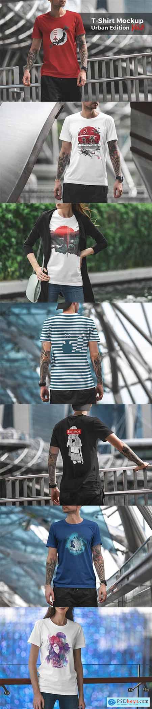 T-Shirt Mockup Urban Edition Vol6