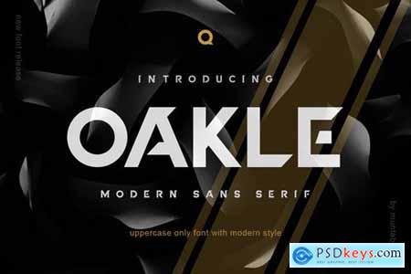 Oakle Modern Sans