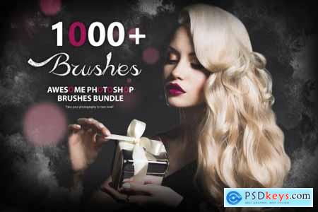 1000+ Awesome Photoshop Brushes 4602866