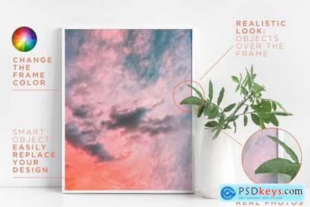 Frame Mockup Bundle JPG + PNG + PSD 3449994