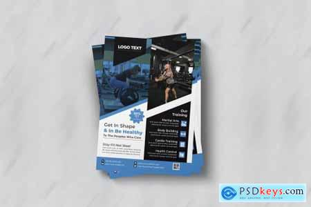 Modern fitness gym flyer Template 4691672