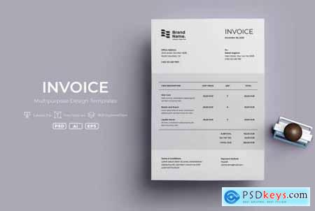 ADL Invoice Template