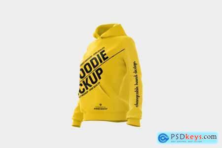Women hoodie mock-up