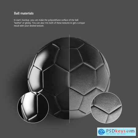 Soccer Ball Animated Mockup