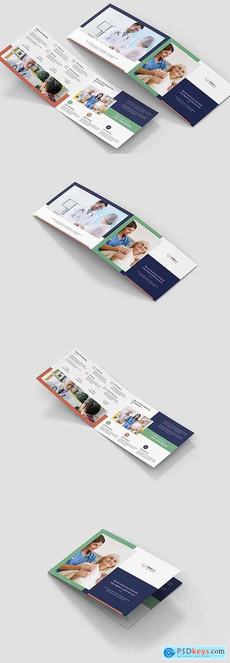 Brochure – Senior Care Bi-Fold A5 Landscape