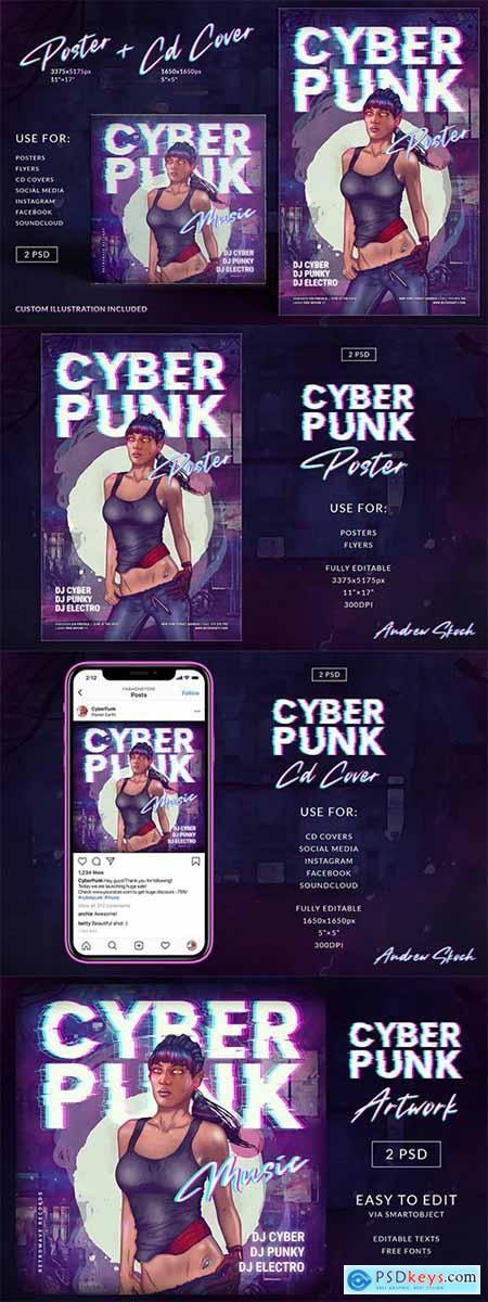 Cyberpunk Poster CD Cover