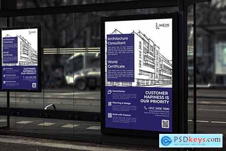 Imejin Architect - Business Poster RB
