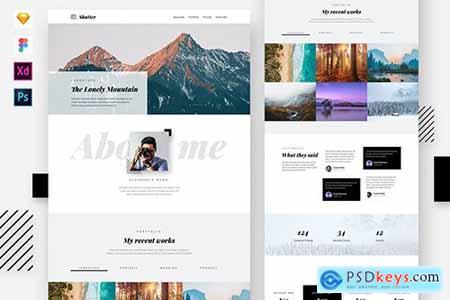Shutter - Photography Website Template