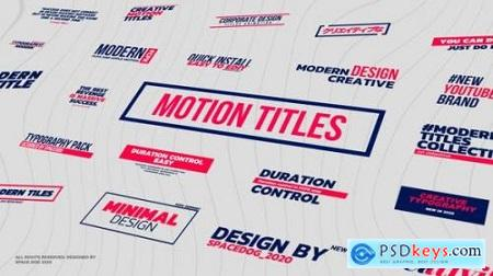 Motion Titles & Lower Thirds FCPX 26133775
