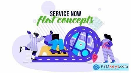 Service Now Flat Concept 26140398
