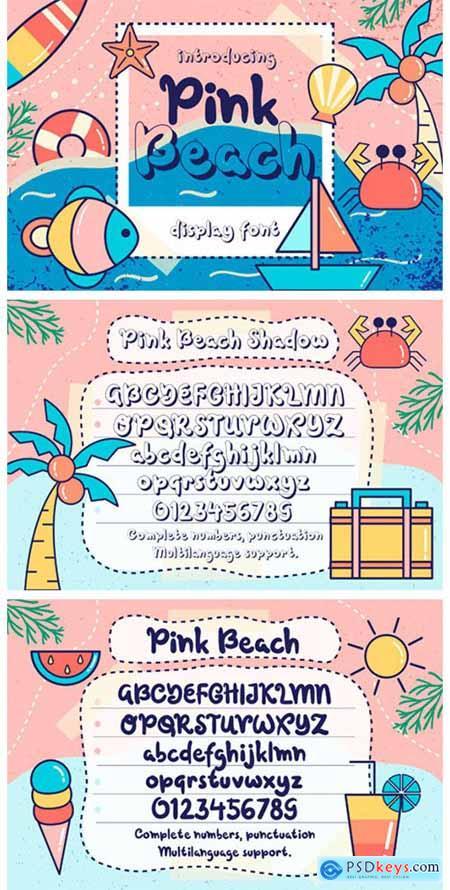 Pink Beach Font