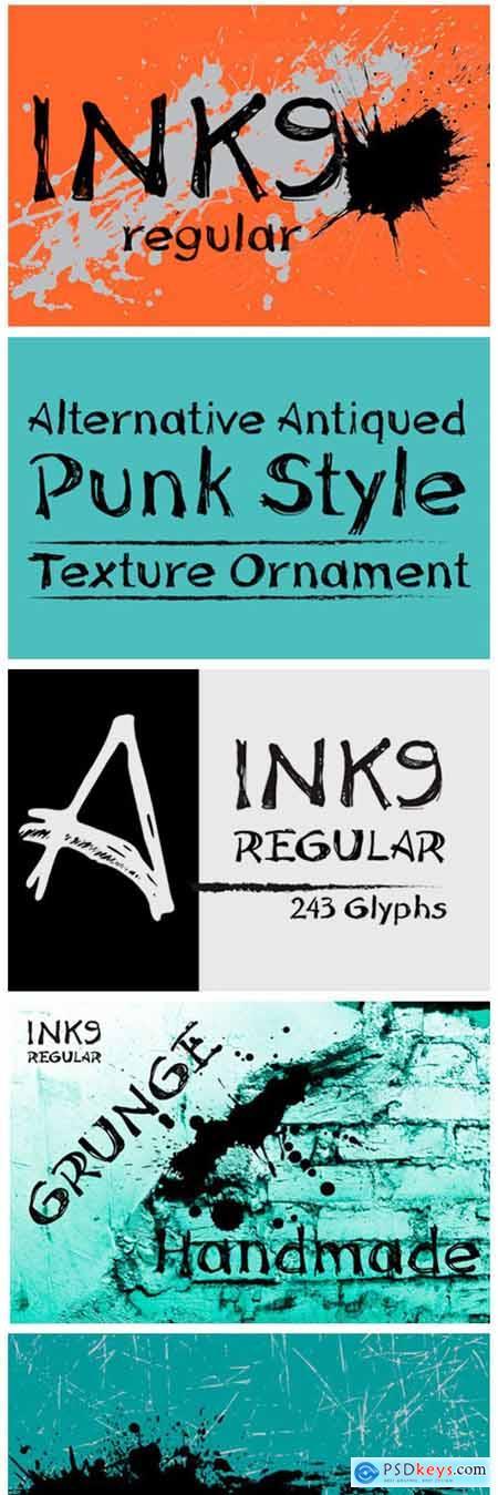 Ink 9 Font