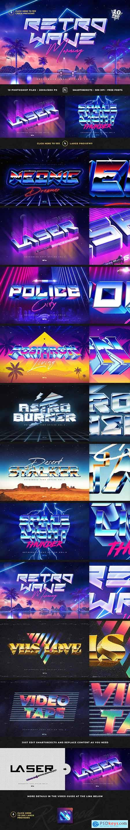 80s Retro Text Effects vol.2 26131541