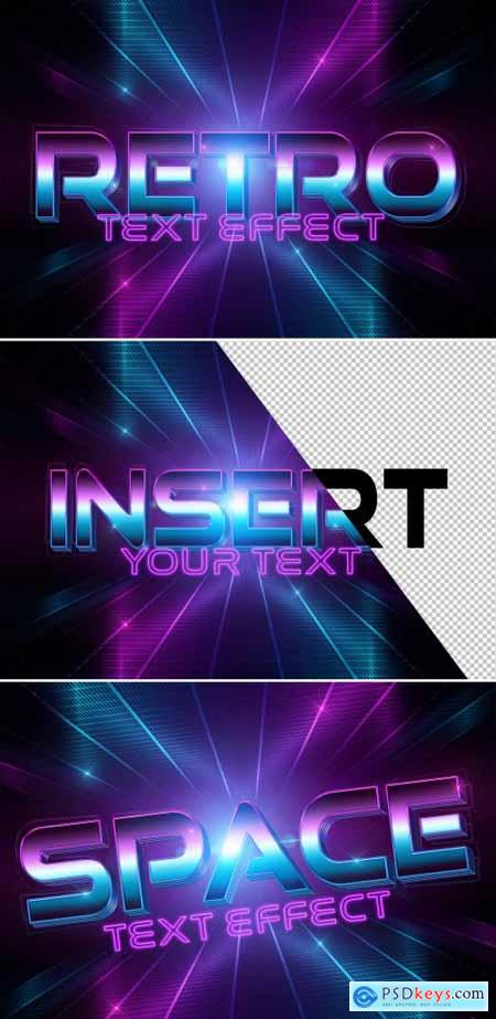 Disco Style Text Effect Mockup 333527605