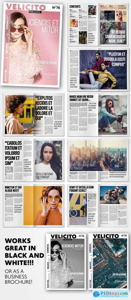 Lifestyle Magazine Layout 333494139