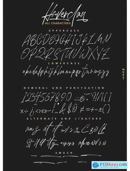 Hooverclan - Pen Inked Handwritten