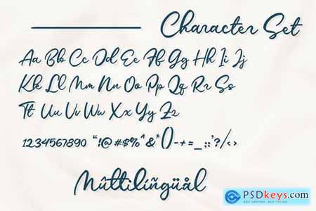 Talitta - Script Font