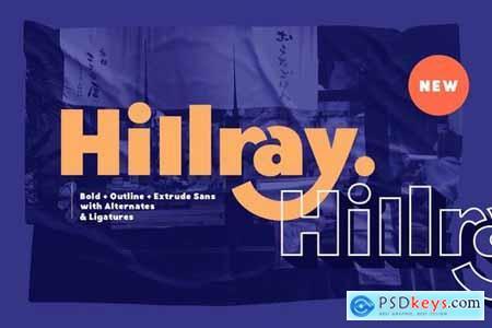 Hillray - Stylish Bold Sans