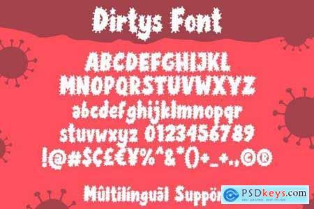Dirtys Font