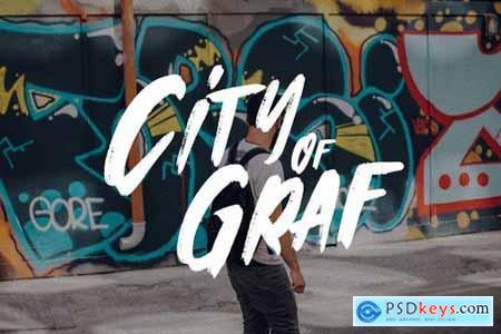 Vandalism - Urban Street Brush Font
