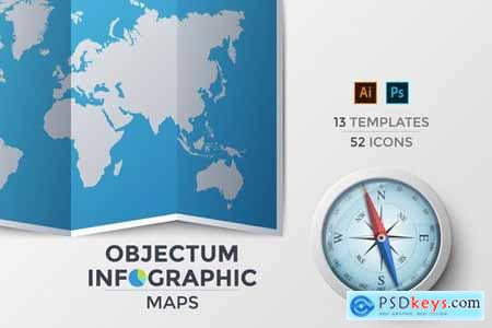Objectum Infographic Maps
