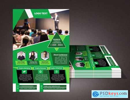 Corporate business flyer 4686097