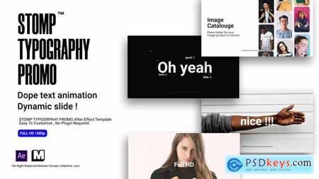 Stomp Typography Promo 25550191