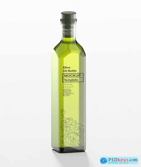 Olive Oil Bottle Mockup 333537173