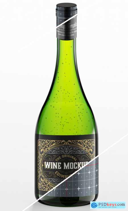Glass Bottle Mockup 333551884