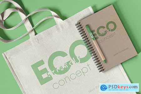 Branding Eco Concept Mockup