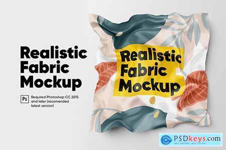 Realistic Fabric Mockup