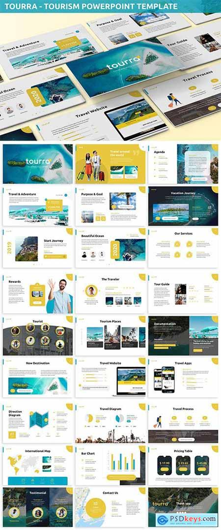 Toura - Tourism Powerpoint Template