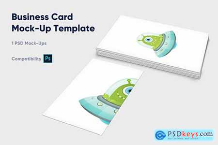 Business Card Mock-Up Template - Vol1