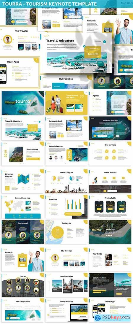 Toura - Tourism Keynote Template