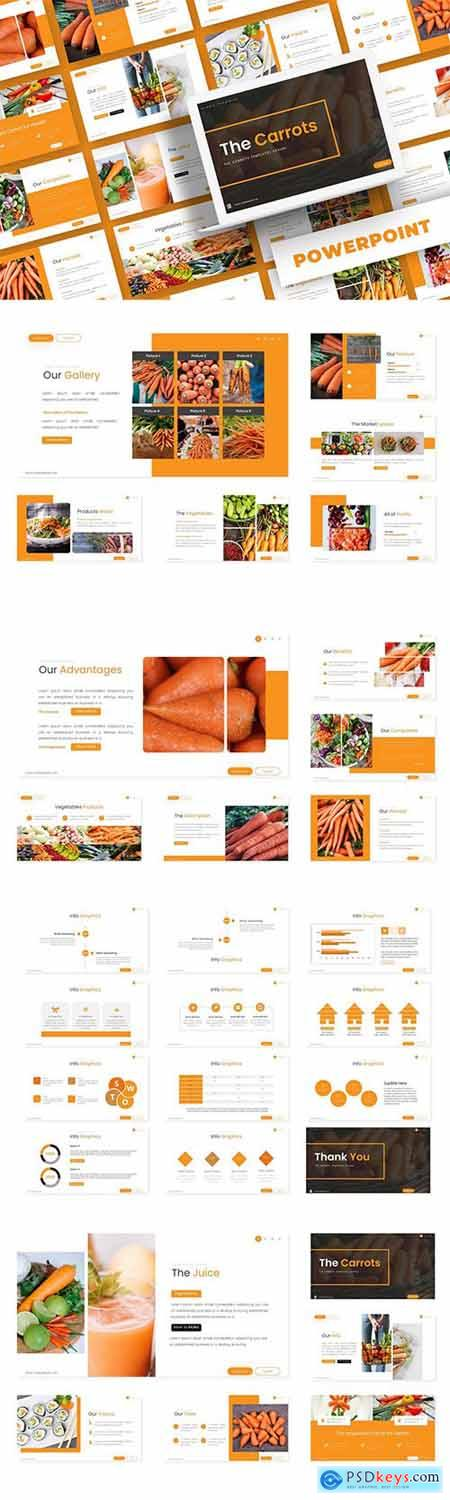 The Carrot - Powerpoint, Keynote and Google Slide Template